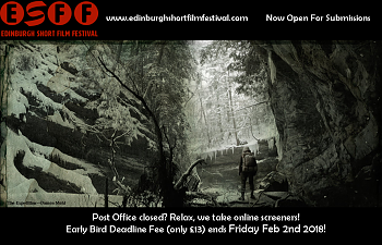 Edinburgh Short Film Festival -  Submissions Now Open! Awards/Global Tours